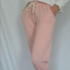 Pink sweatpants!
